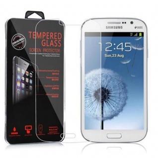 Cadorabo Panzer Folie für Samsung Galaxy GRAND DUOS / GRAND NEO - Schutzfolie in KRISTALL KLAR - Gehärtetes (Tempered) Display-Schutzglas in 9H Härte mit 3D Touch Kompatibilität