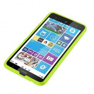 Cadorabo Hülle für Nokia Lumia 1320 in JELLY GRÜN ? Handyhülle aus flexiblem TPU Silikon ? Silikonhülle Schutzhülle Ultra Slim Soft Back Cover Case Bumper - Vorschau 2