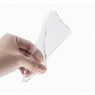 Cadorabo Hülle für Samsung Galaxy A3 2015 in VOLL TRANSPARENT - Handyhülle aus flexiblem TPU Silikon - Silikonhülle Schutzhülle Ultra Slim Soft Back Cover Case Bumper - Vorschau 2