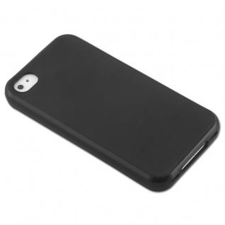 Cadorabo Hülle für Apple iPhone 4 / iPhone 4S in SCHWARZ - Handyhülle aus flexiblem TPU Silikon - Silikonhülle Schutzhülle Ultra Slim Soft Back Cover Case Bumper - Vorschau 3