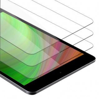 Cadorabo 3x Panzer Folie für Apple iPad Mini / Mini 2 / Mini 3 - Schutzfolie in KRISTALL KLAR - 3er Pack Gehärtetes (Tempered) Display-Schutzglas in 9H Härte mit 3D Touch Kompatibilität