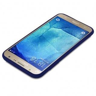 Cadorabo Hülle für Samsung Galaxy J7 2015 in CANDY DUNKEL BLAU - Handyhülle aus flexiblem TPU Silikon - Silikonhülle Schutzhülle Ultra Slim Soft Back Cover Case Bumper - Vorschau 3