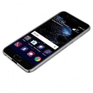 Cadorabo Hülle für Huawei P10 in METALL SILBER - Hardcase Handyhülle aus Plastik gegen Kratzer und Stöße - Schutzhülle Bumper Ultra Slim Back Case Hard Cover - Vorschau 3