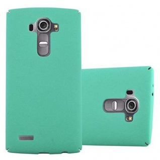 Cadorabo Hülle für LG G4 / G4 PLUS in FROSTY GRÜN - Hardcase Handyhülle aus Plastik gegen Kratzer und Stöße - Schutzhülle Bumper Ultra Slim Back Case Hard Cover