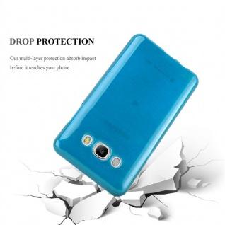 Cadorabo Hülle für Samsung Galaxy J7 2016 in TÜRKIS - Handyhülle aus flexiblem TPU Silikon - Silikonhülle Schutzhülle Ultra Slim Soft Back Cover Case Bumper - Vorschau 3