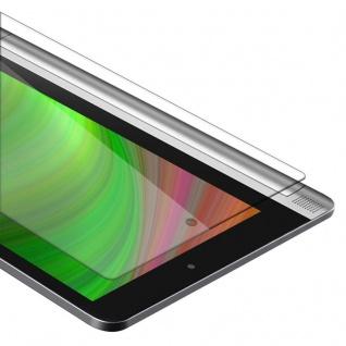 """Cadorabo Panzer Folie für Lenovo Yoga Tab 2 (10.1"""" Zoll) Schutzfolie in KRISTALL KLAR Gehärtetes (Tempered) Display-Schutzglas in 9H Härte mit 3D Touch Kompatibilität"""