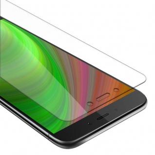 Cadorabo Panzer Folie für Xiaomi RedMi NOTE 4 - Schutzfolie in KRISTALL KLAR - Gehärtetes (Tempered) Display-Schutzglas in 9H Härte mit 3D Touch Kompatibilität