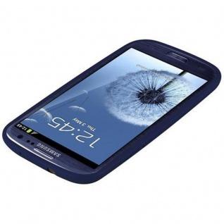 Cadorabo Hülle für Samsung Galaxy S3 / S3 NEO in CANDY DUNKEL BLAU - Handyhülle aus flexiblem TPU Silikon - Silikonhülle Schutzhülle Ultra Slim Soft Back Cover Case Bumper - Vorschau 4