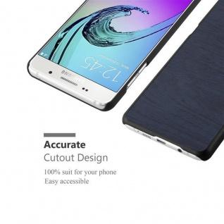 Cadorabo Hülle für Samsung Galaxy A5 2016 in WOODEN BLAU ? Handyhülle aus flexiblem TPU Silikon ? Silikonhülle Schutzhülle Ultra Slim Soft Back Cover Case Bumper - Vorschau 5
