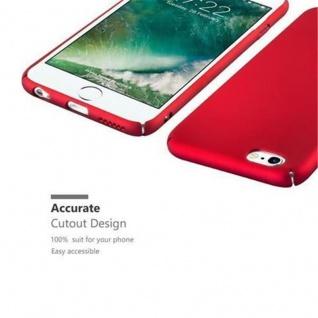 Cadorabo Hülle für Apple iPhone 6 / iPhone 6S in METALL ROT - Hardcase Handyhülle aus Plastik gegen Kratzer und Stöße - Schutzhülle Bumper Ultra Slim Back Case Hard Cover - Vorschau 3