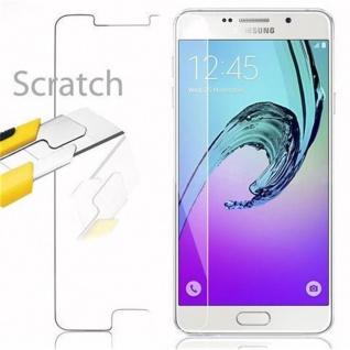 Cadorabo Panzer Folie für Samsung Galaxy A7 2016 - Schutzfolie in KRISTALL KLAR - Gehärtetes (Tempered) Display-Schutzglas in 9H Härte mit 3D Touch Kompatibilität - Vorschau 2
