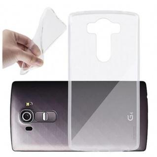 Cadorabo Hülle für LG G4 PRO in VOLL TRANSPARENT Handyhülle aus flexiblem TPU Silikon Silikonhülle Schutzhülle Ultra Slim Soft Back Cover Case Bumper
