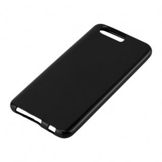 Cadorabo Hülle für Honor 9 in SCHWARZ - Handyhülle aus flexiblem TPU Silikon - Silikonhülle Schutzhülle Ultra Slim Soft Back Cover Case Bumper - Vorschau 2
