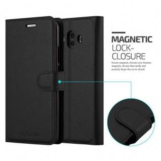 Cadorabo Hülle für Huawei MATE 10 in PHANTOM SCHWARZ - Handyhülle mit Magnetverschluss, Standfunktion und Kartenfach - Case Cover Schutzhülle Etui Tasche Book Klapp Style - Vorschau 2