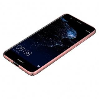 Cadorabo Hülle für Huawei P10 LITE in METALL ROSÉ GOLD - Hardcase Handyhülle aus Plastik gegen Kratzer und Stöße - Schutzhülle Bumper Ultra Slim Back Case Hard Cover - Vorschau 3