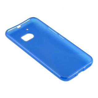 Cadorabo Hülle für HTC 10 in ROYAL BLAU - Handyhülle aus flexiblem TPU Silikon - Silikonhülle Schutzhülle Ultra Slim Soft Back Cover Case Bumper - Vorschau 5