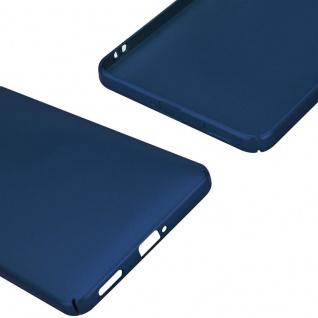 Cadorabo Hülle für Nokia 6 2017 in METALL BLAU ? Hardcase Handyhülle aus Plastik gegen Kratzer und Stöße ? Schutzhülle Bumper Ultra Slim Back Case Hard Cover - Vorschau 5