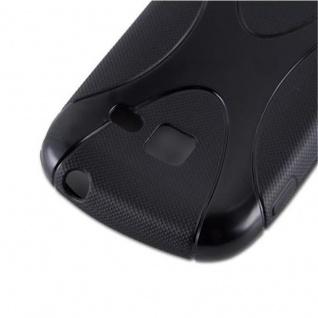 Cadorabo Hülle für Samsung Galaxy ACE DUOS in OXID SCHWARZ ? Handyhülle aus flexiblem TPU Silikon ? Silikonhülle Schutzhülle Ultra Slim Soft Back Cover Case Bumper - Vorschau 4