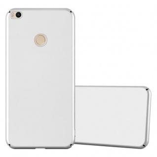 Cadorabo Hülle für Xiaomi Mi Max 2 in METALL SILBER Hardcase Handyhülle aus Plastik gegen Kratzer und Stöße Schutzhülle Bumper Ultra Slim Back Case Hard Cover