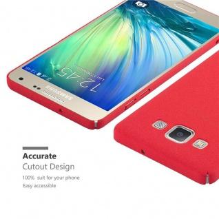 Cadorabo Hülle für Samsung Galaxy A3 2015 in FROSTY ROT - Hardcase Handyhülle aus Plastik gegen Kratzer und Stöße - Schutzhülle Bumper Ultra Slim Back Case Hard Cover - Vorschau 5