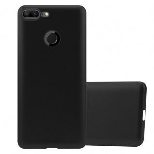 Cadorabo Hülle für Honor 9 LITE in METALLIC SCHWARZ - Handyhülle aus flexiblem TPU Silikon - Silikonhülle Schutzhülle Ultra Slim Soft Back Cover Case Bumper