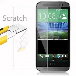 Cadorabo Panzer Folie für HTC ONE M8 (2.Gen.) - Schutzfolie in KRISTALL KLAR - Gehärtetes (Tempered) Display-Schutzglas in 9H Härte mit 3D Touch Kompatibilität - Vorschau 2
