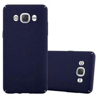 Cadorabo Hülle für Samsung Galaxy J5 2016 in FROSTY BLAU Hardcase Handyhülle aus Plastik gegen Kratzer und Stöße Schutzhülle Bumper Ultra Slim Back Case Hard Cover