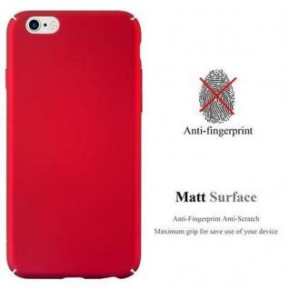 Cadorabo Hülle für Apple iPhone 6 / iPhone 6S in METALL ROT - Hardcase Handyhülle aus Plastik gegen Kratzer und Stöße - Schutzhülle Bumper Ultra Slim Back Case Hard Cover - Vorschau 2