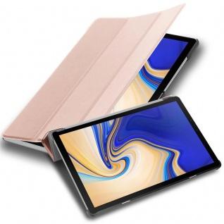 """Cadorabo Tablet Hülle für Samsung Galaxy Tab S5e (10, 5"""" Zoll) SM-T725N in PASTELL ROSÉ GOLD Ultra Dünne Book Style Schutzhülle mit Auto Wake Up und Standfunktion aus Kunstleder"""