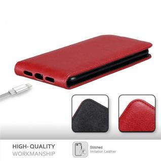 Cadorabo Hülle für Apple iPhone XR in APFEL ROT - Handyhülle im Flip Design mit Magnetverschluss - Case Cover Schutzhülle Etui Tasche Book Klapp Style - Vorschau 2