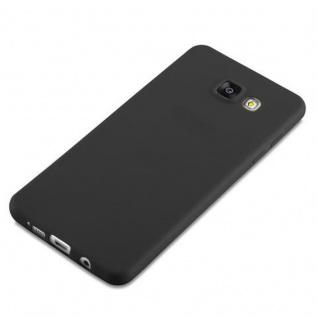 Cadorabo Hülle für Samsung Galaxy A5 2016 in CANDY SCHWARZ - Handyhülle aus flexiblem TPU Silikon - Silikonhülle Schutzhülle Ultra Slim Soft Back Cover Case Bumper - Vorschau 4
