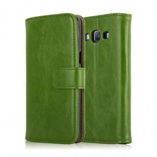 Cadorabo Hülle für Samsung Galaxy A5 2015 in GRAS GRÜN - Handyhülle mit Magnetverschluss, Standfunktion und Kartenfach - Case Cover Schutzhülle Etui Tasche Book Klapp Style - Vorschau 2