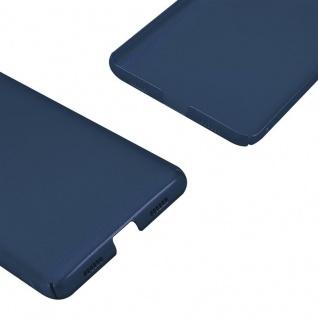 Cadorabo Hülle für Honor 6X in METALL BLAU - Hardcase Handyhülle aus Plastik gegen Kratzer und Stöße - Schutzhülle Bumper Ultra Slim Back Case Hard Cover - Vorschau 5