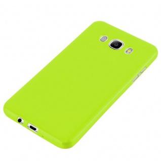 Cadorabo Hülle für Samsung Galaxy J7 2015 in JELLY GRÜN - Handyhülle aus flexiblem TPU Silikon - Silikonhülle Schutzhülle Ultra Slim Soft Back Cover Case Bumper - Vorschau 3