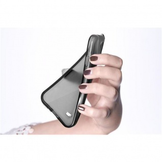 Cadorabo Hülle für Samsung Galaxy J1 2016 in SCHWARZ - Handyhülle aus flexiblem TPU Silikon - Silikonhülle Schutzhülle Ultra Slim Soft Back Cover Case Bumper - Vorschau 5
