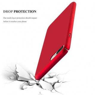 Cadorabo Hülle für Apple iPhone 8 PLUS / iPhone 7 PLUS / iPhone 7S PLUS in METALL ROT - Hardcase Handyhülle aus Plastik gegen Kratzer und Stöße - Schutzhülle Bumper Ultra Slim Back Case Hard Cover - Vorschau 3