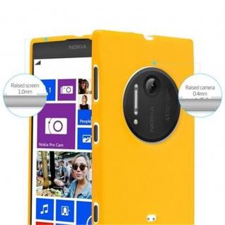 Cadorabo Hülle für Nokia Lumia 1020 in JELLY GELB - Handyhülle aus flexiblem TPU Silikon - Silikonhülle Schutzhülle Ultra Slim Soft Back Cover Case Bumper - Vorschau 5