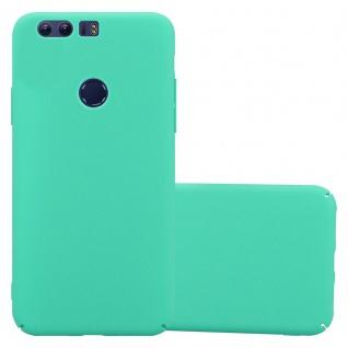 Cadorabo Hülle für Honor 8 in FROSTY GRÜN - Hardcase Handyhülle aus Plastik gegen Kratzer und Stöße - Schutzhülle Bumper Ultra Slim Back Case Hard Cover