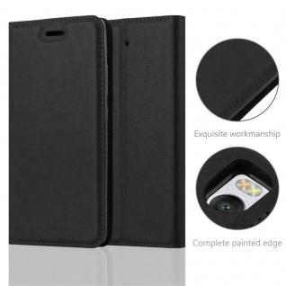 Cadorabo Hülle für Xiaomi Mi 5S in NACHT SCHWARZ - Handyhülle mit Magnetverschluss, Standfunktion und Kartenfach - Case Cover Schutzhülle Etui Tasche Book Klapp Style - Vorschau 2