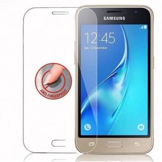 Cadorabo Panzer Folie für Samsung Galaxy J1 MINI 2016 - Schutzfolie in KRISTALL KLAR - Gehärtetes (Tempered) Display-Schutzglas in 9H Härte mit 3D Touch Kompatibilität - Vorschau 4