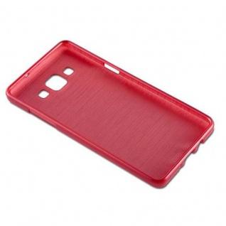 Cadorabo Hülle für Samsung Galaxy A5 2015 in ROT - Handyhülle aus flexiblem TPU Silikon - Silikonhülle Schutzhülle Ultra Slim Soft Back Cover Case Bumper - Vorschau 2