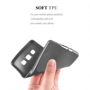 Cadorabo Hülle für Samsung Galaxy A3 2015 in METALLIC GRAU - Handyhülle aus flexiblem TPU Silikon - Silikonhülle Schutzhülle Ultra Slim Soft Back Cover Case Bumper - Vorschau 5