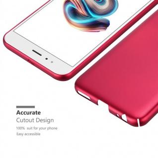 Cadorabo Hülle für Xiaomi Mi A1 / 5X in METALL ROT ? Hardcase Handyhülle aus Plastik gegen Kratzer und Stöße ? Schutzhülle Bumper Ultra Slim Back Case Hard Cover - Vorschau 5