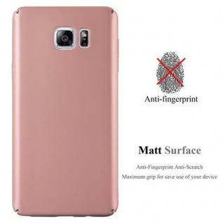 Cadorabo Hülle für Samsung Galaxy NOTE 5 in METALL ROSE GOLD ? Hardcase Handyhülle aus Plastik gegen Kratzer und Stöße ? Schutzhülle Bumper Ultra Slim Back Case Hard Cover - Vorschau 2