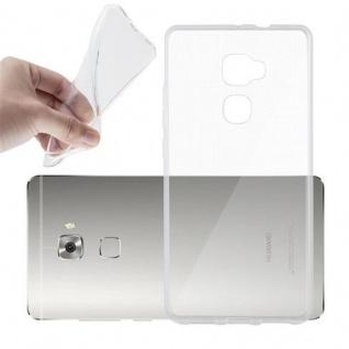 Cadorabo Hülle für Huawei MATE S in VOLL TRANSPARENT - Handyhülle aus flexiblem TPU Silikon - Silikonhülle Schutzhülle Ultra Slim Soft Back Cover Case Bumper