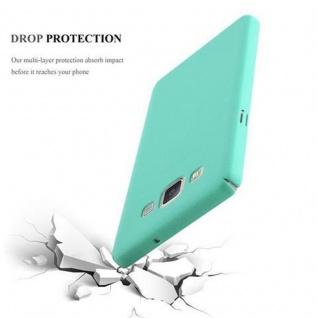 Cadorabo Hülle für Samsung Galaxy A5 2015 in FROSTY GRÜN - Hardcase Handyhülle aus Plastik gegen Kratzer und Stöße - Schutzhülle Bumper Ultra Slim Back Case Hard Cover - Vorschau 3