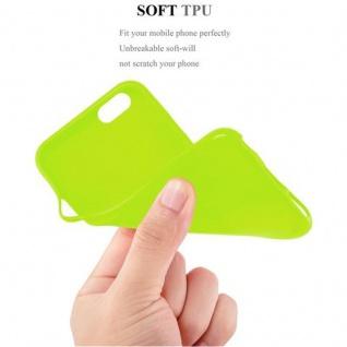 Cadorabo Hülle für Apple iPhone 6 / iPhone 6S in JELLY GRÜN - Handyhülle aus flexiblem TPU Silikon - Silikonhülle Schutzhülle Ultra Slim Soft Back Cover Case Bumper - Vorschau 5
