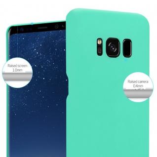 Cadorabo Hülle für Samsung Galaxy S8 PLUS in FROSTY GRÜN - Hardcase Handyhülle aus Plastik gegen Kratzer und Stöße - Schutzhülle Bumper Ultra Slim Back Case Hard Cover - Vorschau 4
