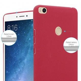 Cadorabo Hülle für Xiaomi Mi Max 2 in FROSTY ROT - Hardcase Handyhülle aus Plastik gegen Kratzer und Stöße - Schutzhülle Bumper Ultra Slim Back Case Hard Cover - Vorschau 4