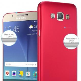 Cadorabo Hülle für Samsung Galaxy A8 2015 in METALL ROT ? Hardcase Handyhülle aus Plastik gegen Kratzer und Stöße ? Schutzhülle Bumper Ultra Slim Back Case Hard Cover - Vorschau 4